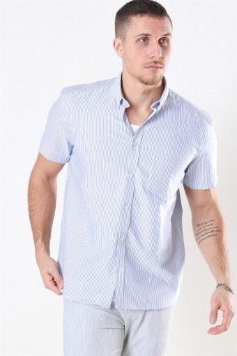 Ete Shirt Stripe Dark Navy