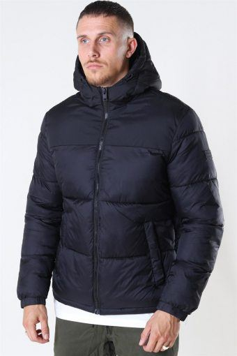 Jack & Jones Drew Puffer Jakke Black