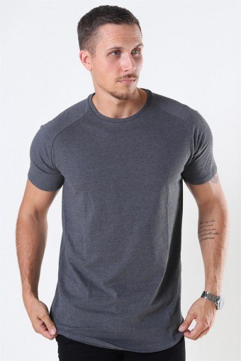 Jack & Jones CKelloved Tee Dark Grey Melange