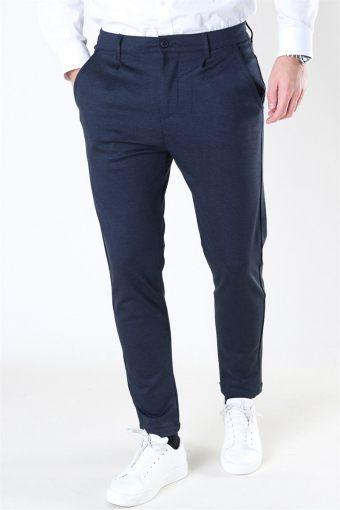 Club Oblique Striped Pants Navy