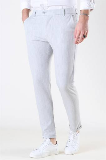Como Light Suit Pants Snow Melange