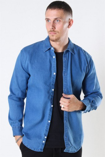 Lenny Denim Shirt Light Blue