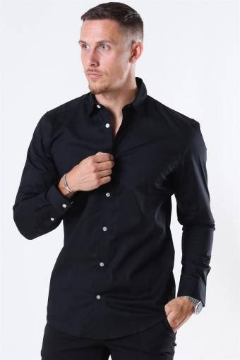Bart Life LS Organic Shirt Noos Black