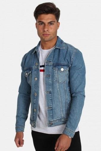Dave Rigid Denim Jacket Light Blue