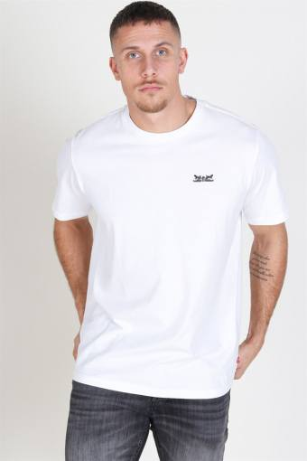 Relaxed Graphic 2H Text T-shirt White
