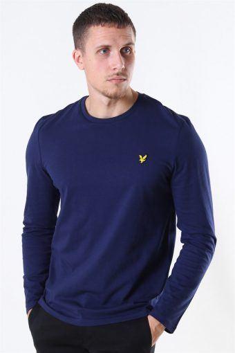LS Crew Neck T-shirt Navy