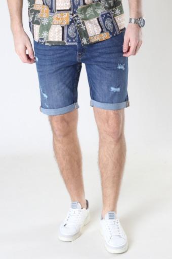 Jjirick Jjoriginal Shorts Agi 006 Blue Denim