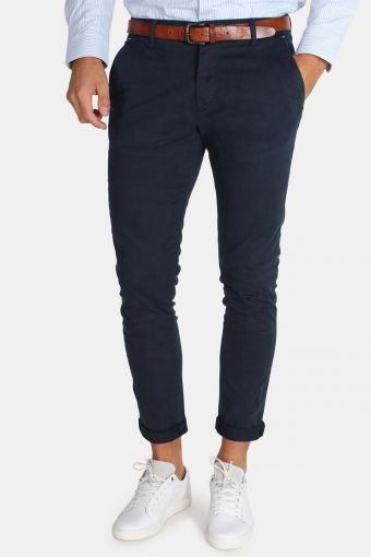 Tailored & Originals Rainford Pants Insignia Blue