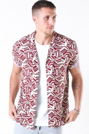 Buck Geo Shirt Kit-Red