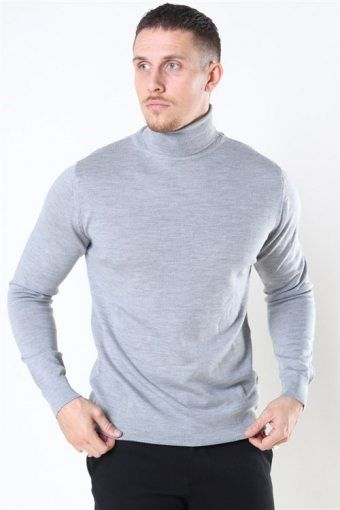Merino Wool Roll Neuloa Light Grey Mel