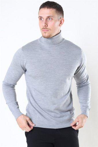 Clean Cut Merino Wool Roll Strik Light Grey Mel