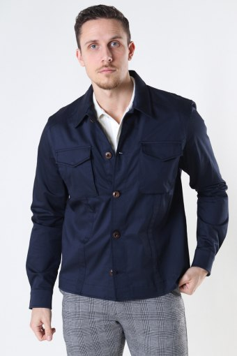 Milo Cole Overshirt Navy