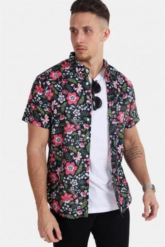 Johan Exotic S/S Shirt Navy 11