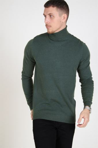 Mikkel 12 High Neck Knit Darkest Spruce