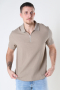 Jack & Jones JORERIC POLO SS BLK Crockery REG