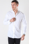 Jack & Jones Summer Band Shirt L/S White