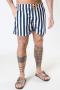 Clean Cut Copenhagen Swim Shorts Navy Stripe