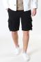 Gabba Rufo Cargo Shorts Black