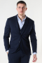 Jack & Jones JJEPHIL JERSEY BLAZER Dark Navy SUPER SLIM FIT