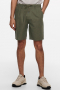 ONLY & SONS ONSLEO SHORTS LINEN MIX GW 9201 NOOS Olive Night