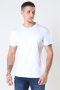 Mos Mosh Perry Basic T-shirt White