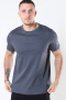 Mos Mosh Perry Basic T-shirt Dark Grey Melange