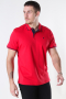 Jack & Jones JJEJERSEY POLO SS NOOS True Red REG